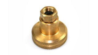 DISH LPG adapter to fill 4 kg gas cylinders - 3/8 left thread