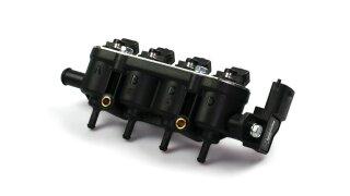 Landi Renzo injecteur MED GPL GNV 4 cylindres GI25-22 VERT avec capteur (ancien modèle à 4 trous)