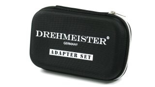 DREHMEISTER Tankadapter-Set in Etui (W21.8L)