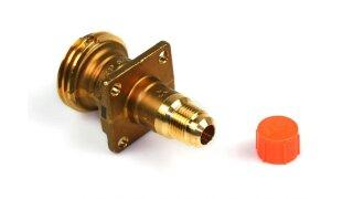 Boquilla de suministro ACME recta para repostaje externo para conexión de manguera de llenado