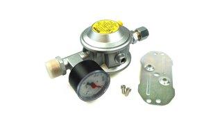 GOK regulador de presión baja 30 mbar 1,5 kg/h recto 10 mm incl. manómetro