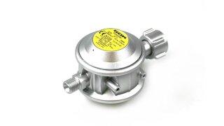 GOK regulador de presión baja 30 mbar 1,5 kg/h - para botellas pequeñas