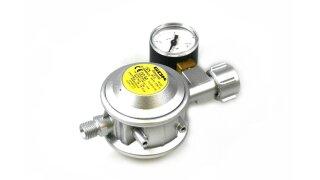 GOK régulateur de basse pression 30mbar 1,5kg/h - KLF, manomètre inclus
