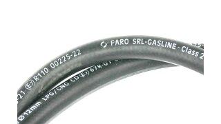 FARO GASLINE LPG/CNG hose ID 14x22 mm (per meter)